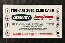 save money with our propane refill card